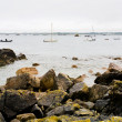 Rocky coastline in Brittany — Stock Photo