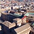 Birds view on center of Rome city — Stock Photo
