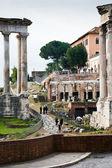 Arco de Septimio Severo en la Colina Capitolina — Foto de Stock