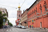 St Peter Monastery on Petrovka street in Moscow — Stock Photo