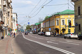 Old street in Moscow - Pokrovka — Stock Photo