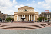 Bolshoi Theater square in Moscow — Stock Photo