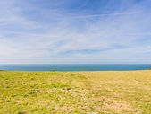 View of English Channel in sunny afternoon — Stock Photo