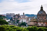 View of Coliseum from Capitol Hill, Rome — Stock Photo