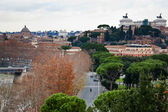 View from Aventine Hill in Rome, Italy — Stock Photo