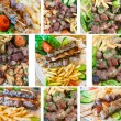 lamb kebab — Stock Photo