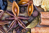Set of spices for mulled wine — Stock Photo