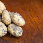 Постер, плакат: Raw potatoes