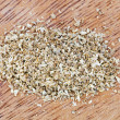 Freshly milled dried coriander seeds — Stock Photo #27322495