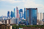 Buildings of Moscow City — Stock Photo
