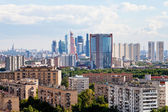 Moscow city skyline — Stock Photo