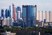 New towers of Moscow City — Stock Photo