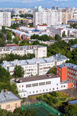 Above view of residential block — Stock Photo