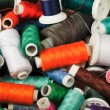 Spools of thread — Stock Photo