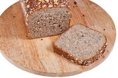 Loaf of rye grain bread — Stock Photo