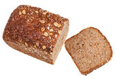 Top view of grain bread loaf — Stock Photo