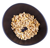 Top view of dried muesli — Stock Photo