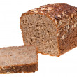 Stock Photo: Loaf of grain bread
