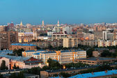 Moscow in summer evening gloaming — Stock Photo