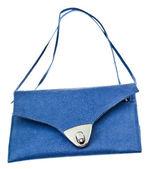 Small flat lady handbag — Stock Photo