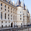 Stock Photo: Conciergerie palace in Paris