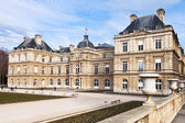 View of Luxembourg Palace in Paris in early spring — Stock Photo