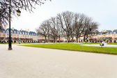 Place Des Vosges in Paris — Stock Photo