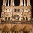Cathedral Notre-Dame de Paris — Stock Photo
