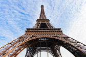 Supports of Eiffel Tower in Paris — Stock Photo