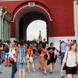 Iberian Gate of Kremlin Wall — Stock Photo