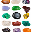 Set of semi-precious stones — Stock Photo #28625381