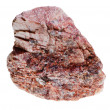 Stock Photo: Pink mineral with crystalline inclusions