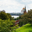 View of Moscow from Kremlin — Stock Photo