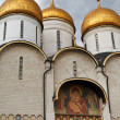 Decoration of Dormition Cathedral in Kremlin — Stock Photo #28626223