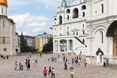 Assumption Belfry on Cathedral square in Moscow Kremlin — Stock Photo