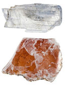 Specimens of Muscovite mica — Stock Photo