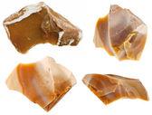 Flint mineral stone — Stock Photo