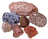 Specimens of pumice — Stock Photo