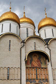 Decoration of Dormition Cathedral in Kremlin — Stock Photo