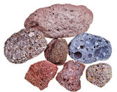 Porous pumice stones — Stock Photo