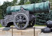 Tsar Cannon in Moscow Kremlin — Stock Photo