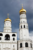 Ivan the Great Bell Tower and Assumption belfry — Stock Photo