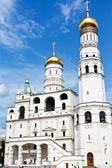Ivan the great bell tower in Moscow Kremlin — Stock Photo