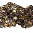 Pyrite mineral stone — Stock Photo
