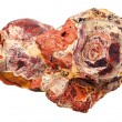 Rock sedimentary mineral — Stock Photo
