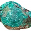 Malachite pebble — Stock Photo