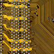 Stock Photo: Component circuit board