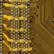 Component circuit board — Stock Photo