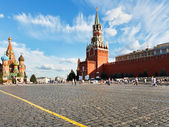 Red Square in Moscow in summer day — Stock Photo