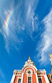 Zaikonospassky monastery in Moscow — Stock Photo